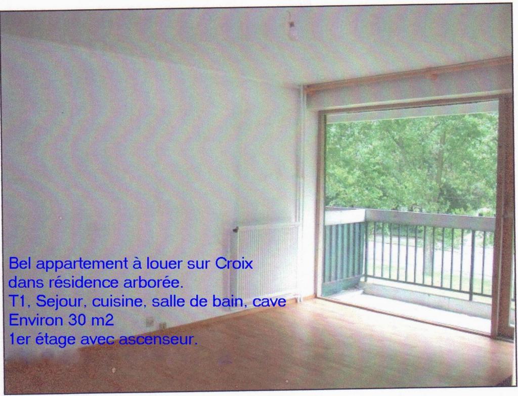Location appartement par particulier, appartement, de 30m² à Croix