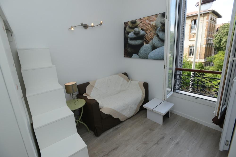 Location appartement entre particulier Marseille 07, studio de 22m²
