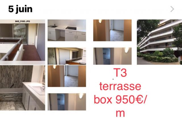 Location appartement T3 Marseille 05 - Photo 1