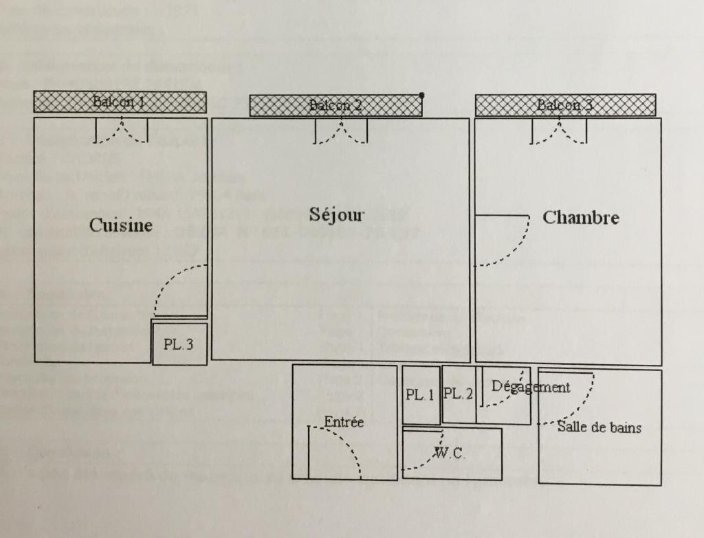 De particulier à particulier, appartement à Paris 13, 43m²