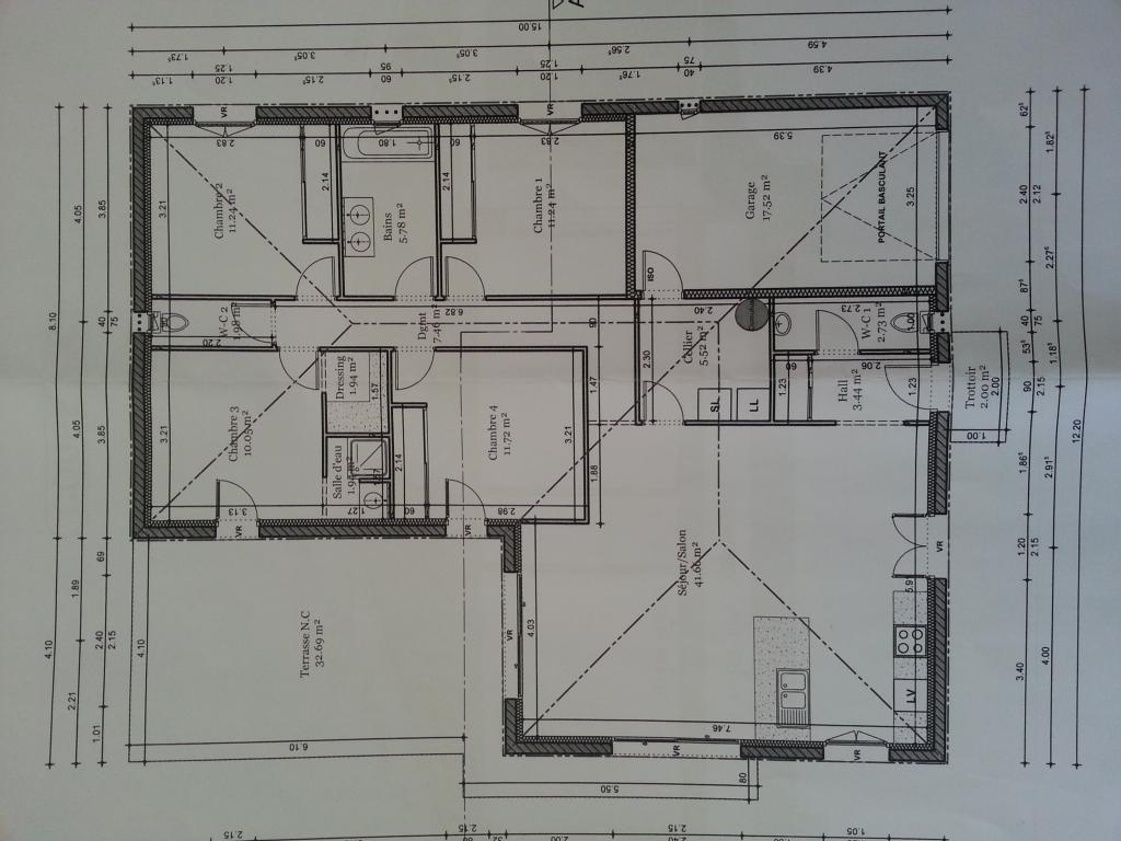 Particulier location, maison, de 116m² à Carcassonne