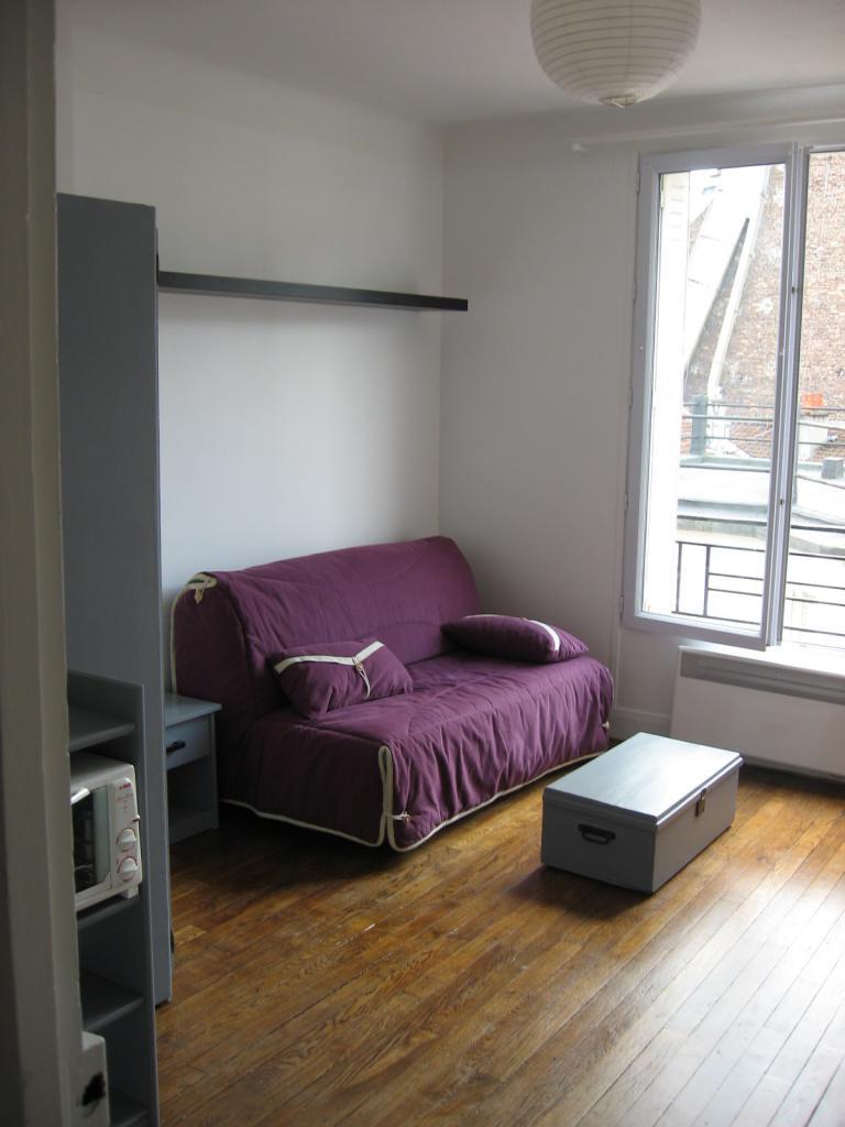 Location appartement entre particulier Paris 20, studio de 17m²