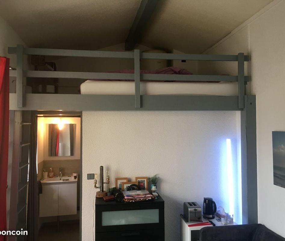 De particulier à particulier Bordeaux, appartement studio, 26m²