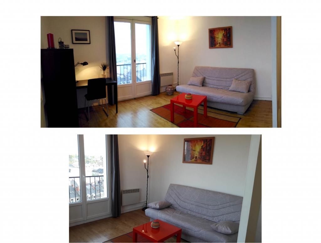 Location appartement entre particulier Rezé, appartement de 35m²