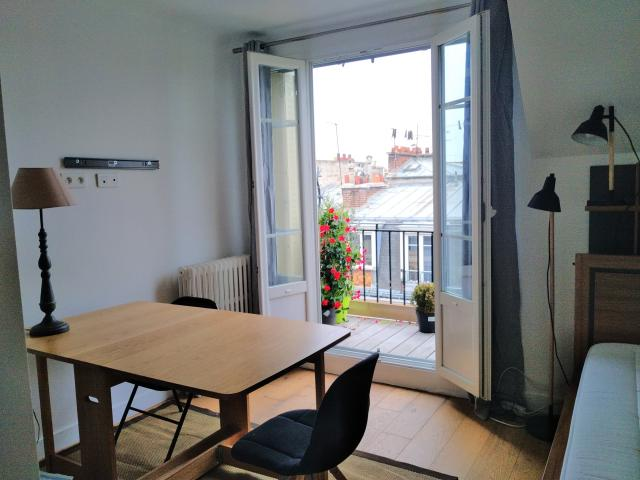 Location appartement T2 Paris 16 - Photo 1
