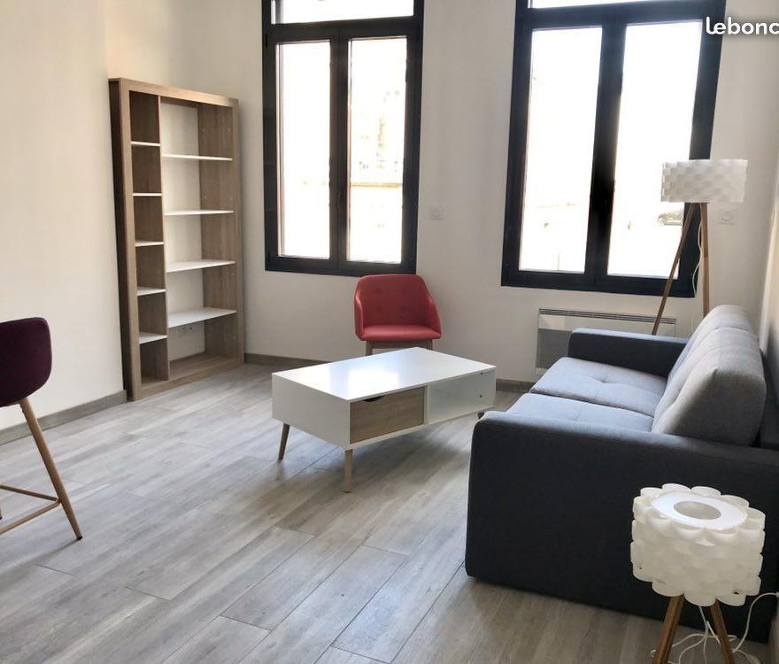 De particulier à particulier Remaucourt, appartement studio de 28m²