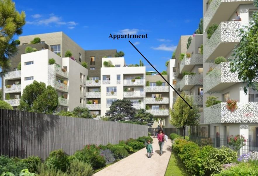 Location particulier Cergy, appartement, de 56m²