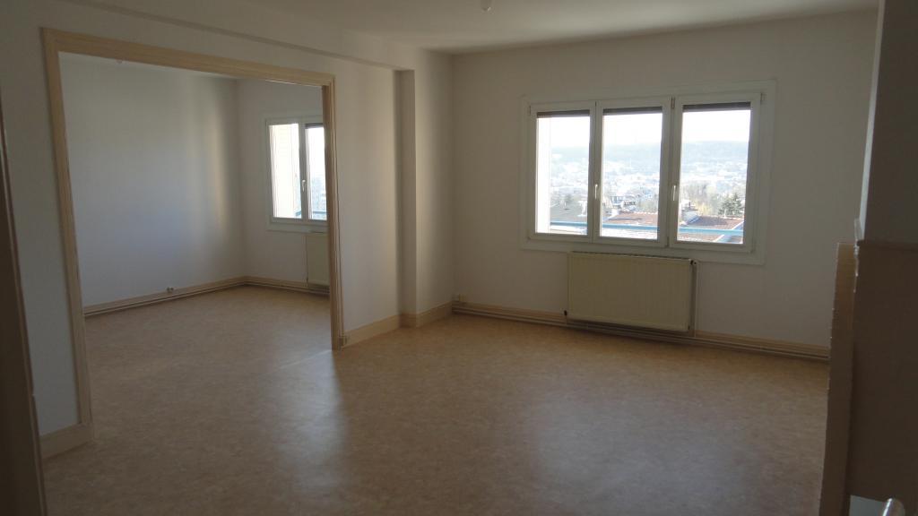 Location immobilière par particulier, Malzéville, type appartement, 74m²
