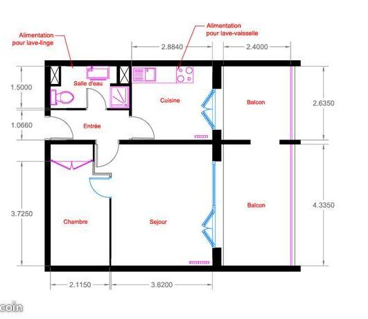 Location particulier à particulier, appartement, de 39m² à Évry