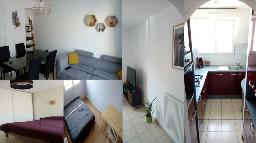 Particulier location, appartement, de 56m² à Quimper