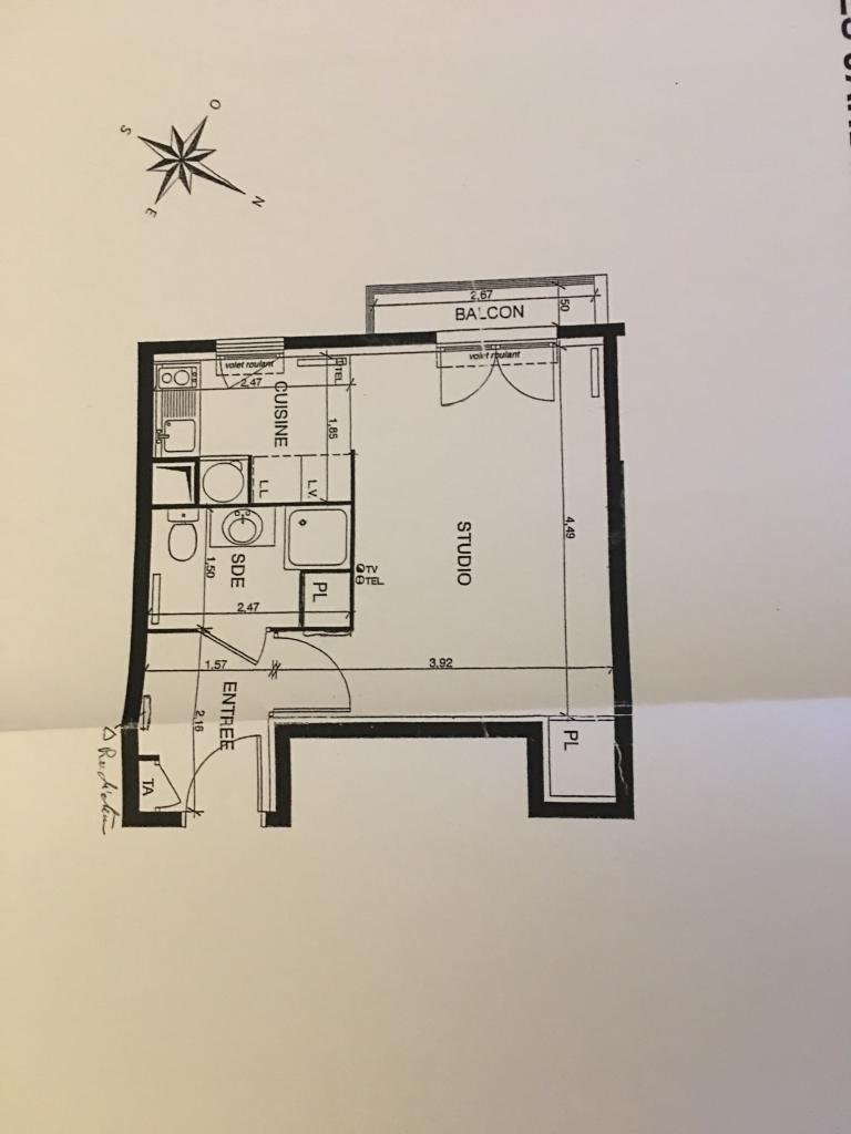 Location appartement par particulier, studio, de 27m² à Le Kremlin-Bicêtre
