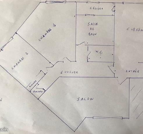 De particulier à particulier Brest, appartement appartement, 62m²