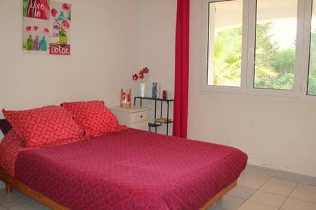 Location appartement entre particulier Sète, chambre de 14m²
