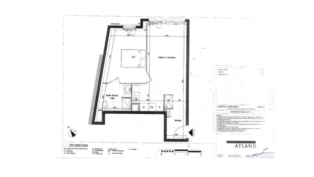 Entre particulier , appartement, de 42m² à Ivry-sur-Seine