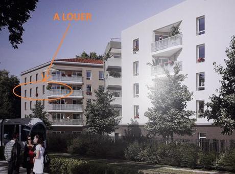 Location appartement entre particulier Décines-Charpieu, appartement de 65m²