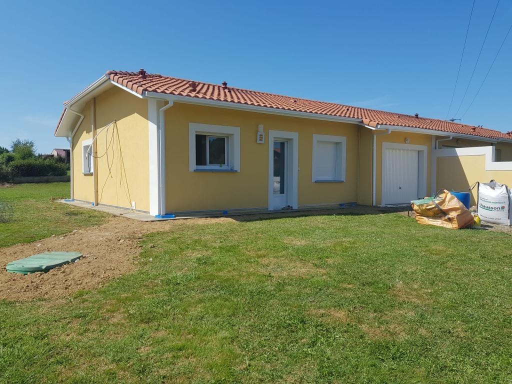 Location particulier, maison, de 70m² à Lacrabe