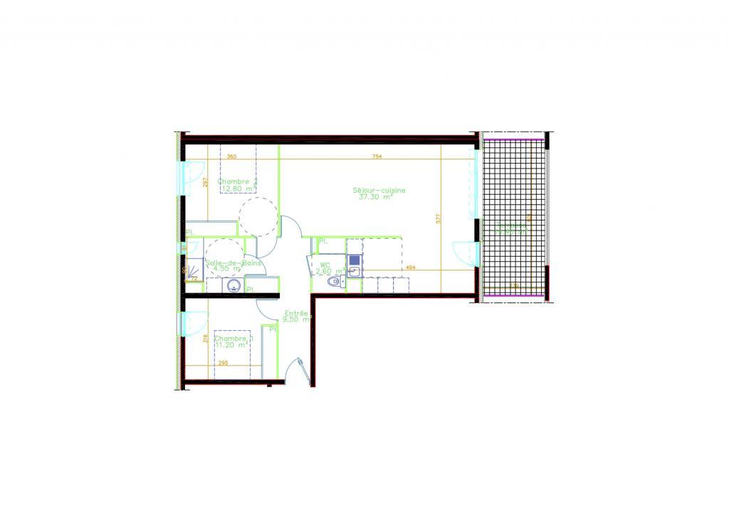 De particulier à particulier Juvignac, appartement appartement, 78m²