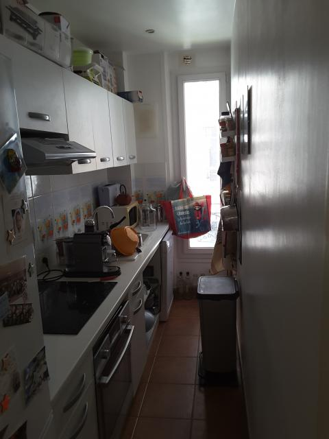 Location t3 meubl avec cuisine quip e paris 15 1975 - Location chambre de bonne paris 16 ...