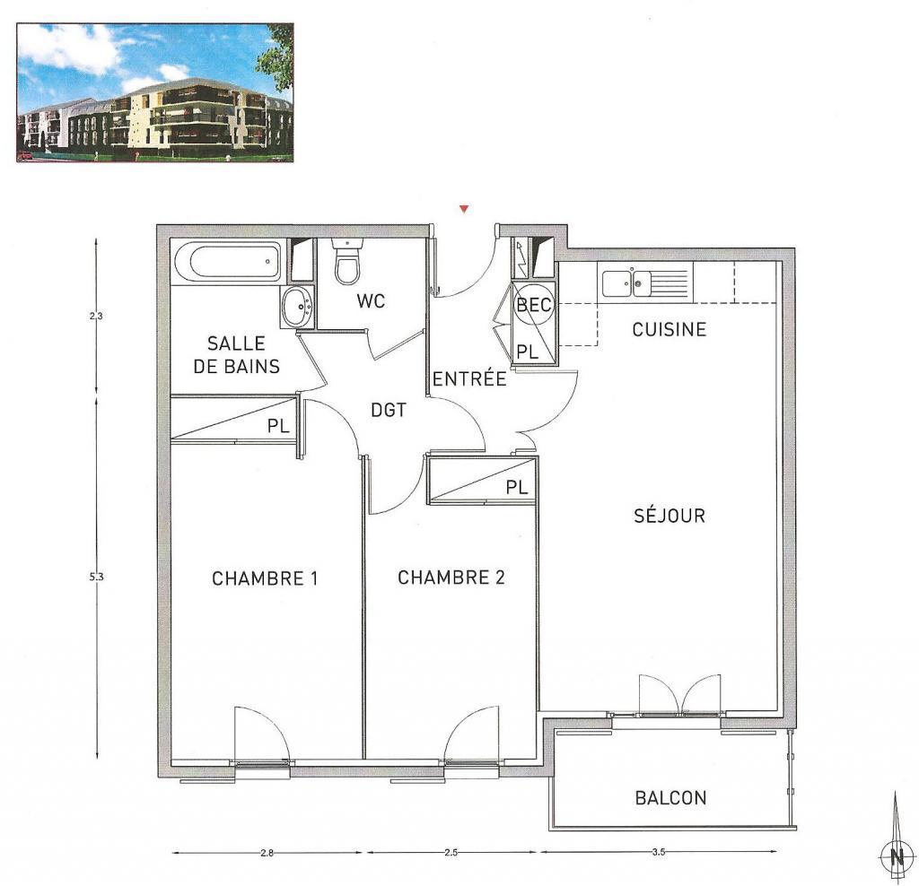 Location particulier à particulier, appartement à Choisy-le-Roi, 62m²