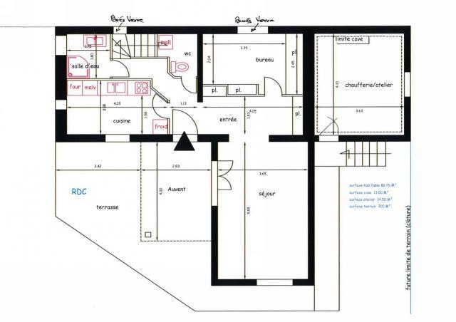 location de maison f4 de particulier particulier neuilly les dijon 750 85 m. Black Bedroom Furniture Sets. Home Design Ideas
