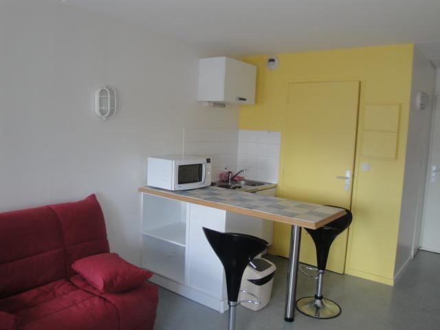 Location de studio meubl sans frais d 39 agence brest for Location meuble brest