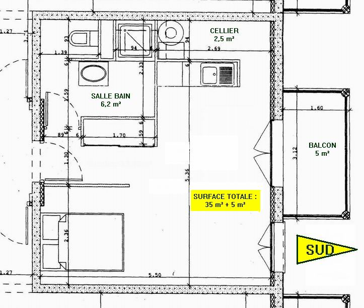 35m² pour ce joli appartement