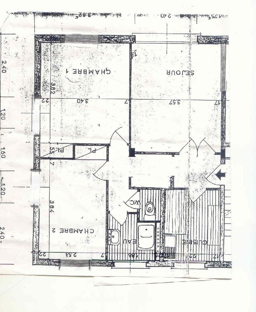 Location d 39 appartement t3 entre particuliers compiegne 667 53 m - Location appartement compiegne ...