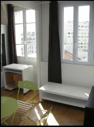 Studio de 18m2 à louer sur Paris 16