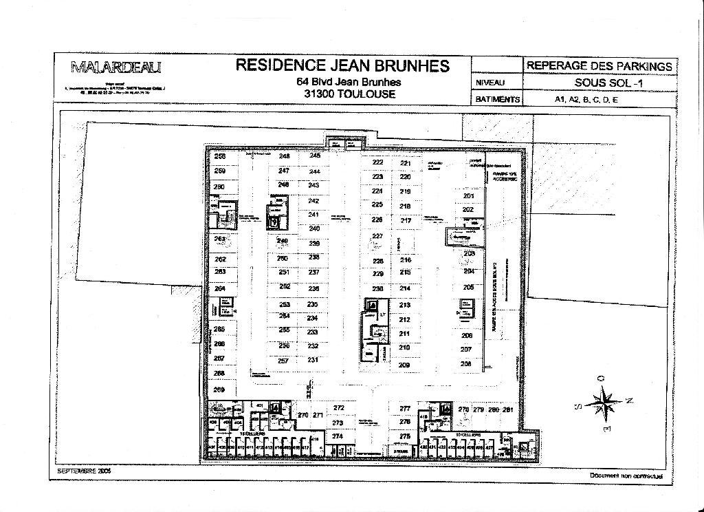 location d 39 appartement t2 de particulier particulier toulouse 735 50 m. Black Bedroom Furniture Sets. Home Design Ideas