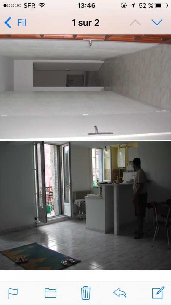 Particulier location, appartement, de 90m² à Bédarieux