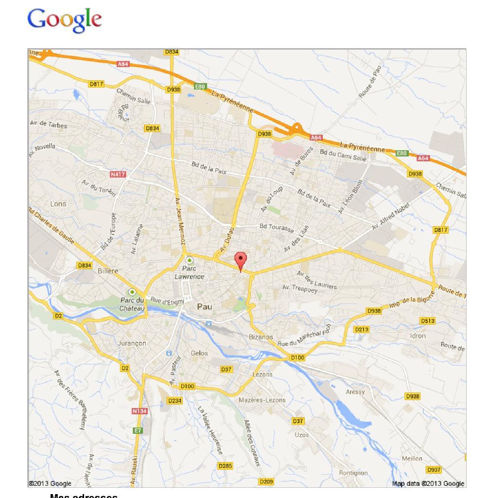 Location d 39 appartement t1 meubl de particulier pau for Location bureau pau 64