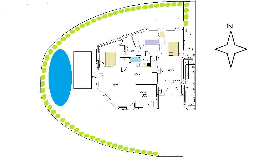 3 chambres disponibles en colocation sur Gallargues le Montueux