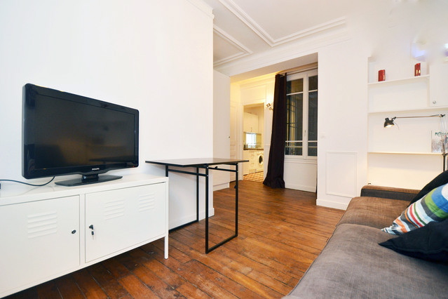 Location d 39 appartement t2 meubl de particulier paris for Location appartement atypique paris