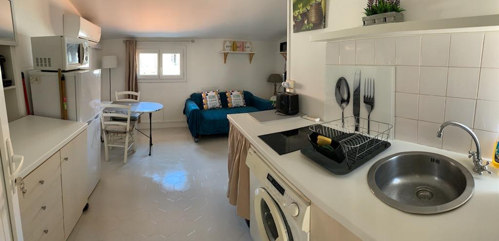 Particulier location, appartement, de 25m² à Ajaccio