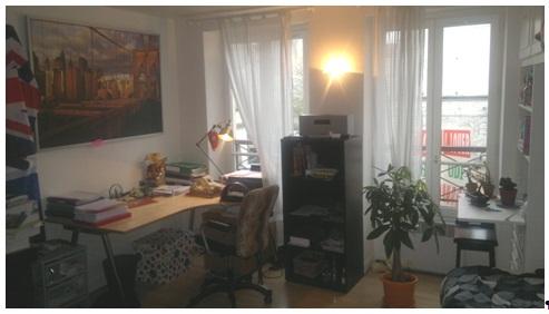 Studio de 24m2 à louer sur Paris 16