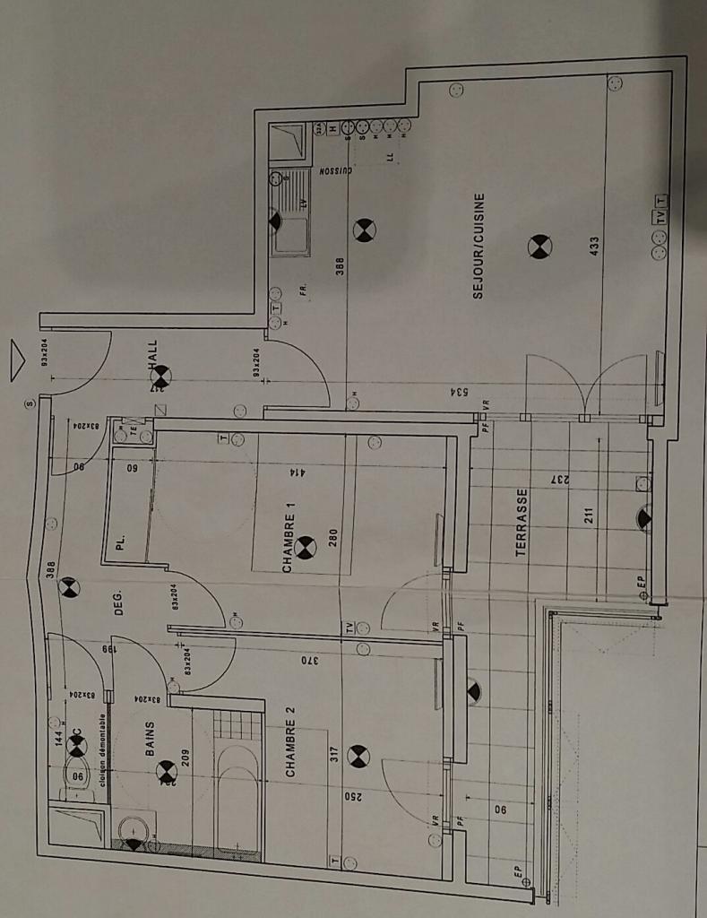 location d 39 appartement t3 de particulier particulier marseille 13003 826 66 m. Black Bedroom Furniture Sets. Home Design Ideas