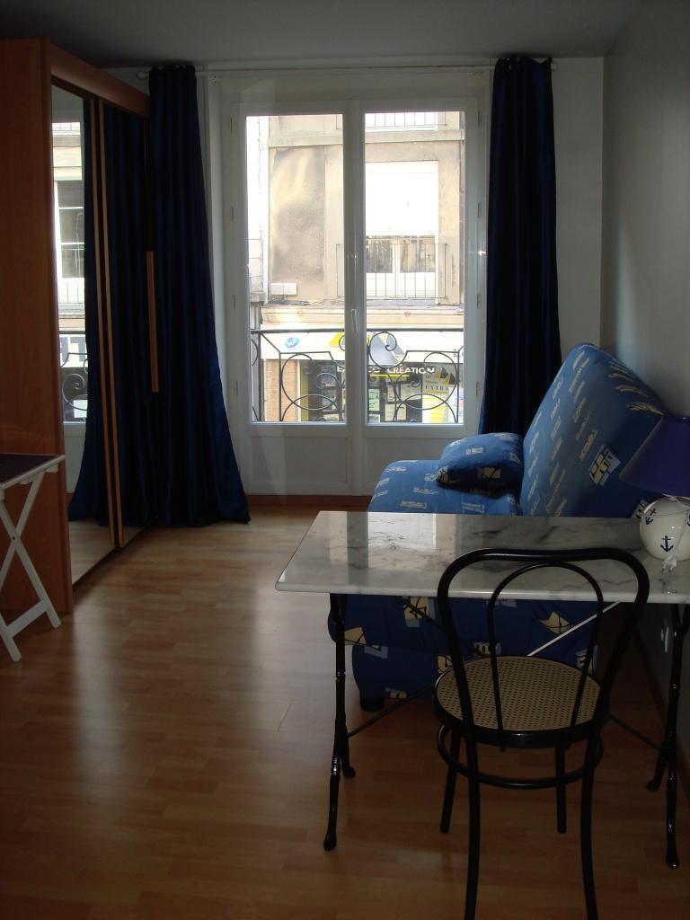 Location appartement entre particulier Dieppe, studio de 19m²