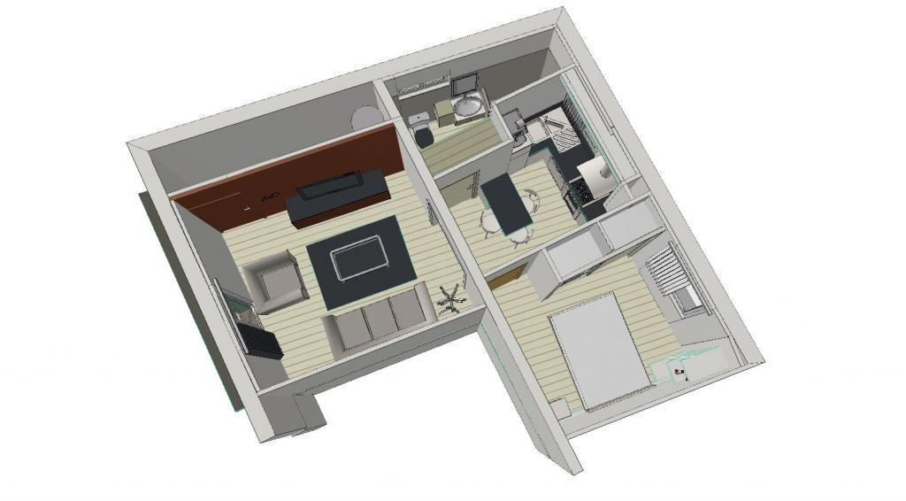 Location particulier Sarrians, appartement, de 38m²