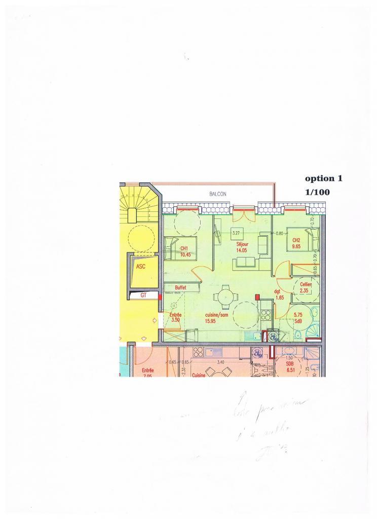 location d 39 appartement t3 de particulier particulier ste genevieve des bois 1070 63 m. Black Bedroom Furniture Sets. Home Design Ideas