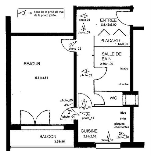Location appartement par particulier, appartement, de 40m² à Azy-sur-Marne