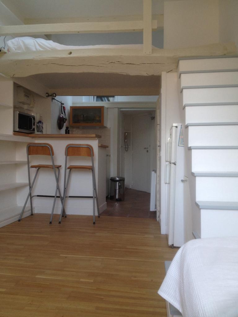 studio de 21m2 louer sur paris 05 location appartement. Black Bedroom Furniture Sets. Home Design Ideas