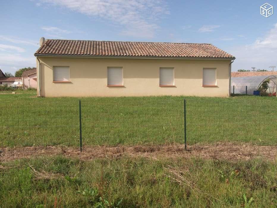 Location immobilière par particulier, Birac-sur-Trec, type maison, 120m²