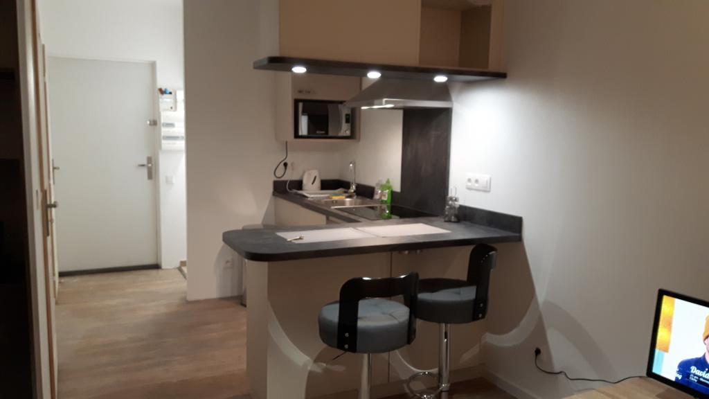 Location de studio meubl de particulier laxou 450 for Combien coute une cuisine equipee