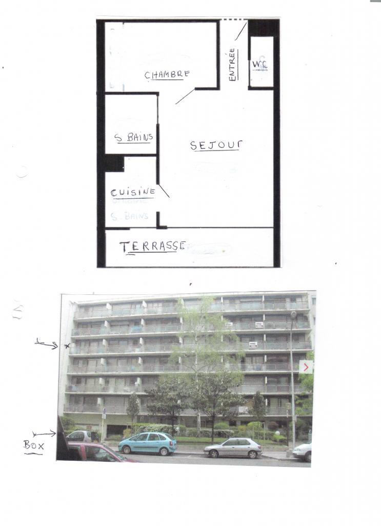 location d 39 appartement t2 entre particuliers courbevoie 860 30 m. Black Bedroom Furniture Sets. Home Design Ideas