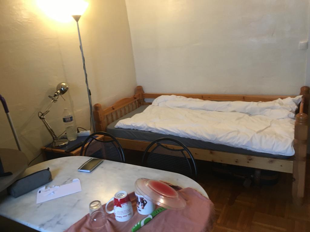 De particulier à particulier Saint-Germain-du-Corbéis, appartement chambre de 12m²