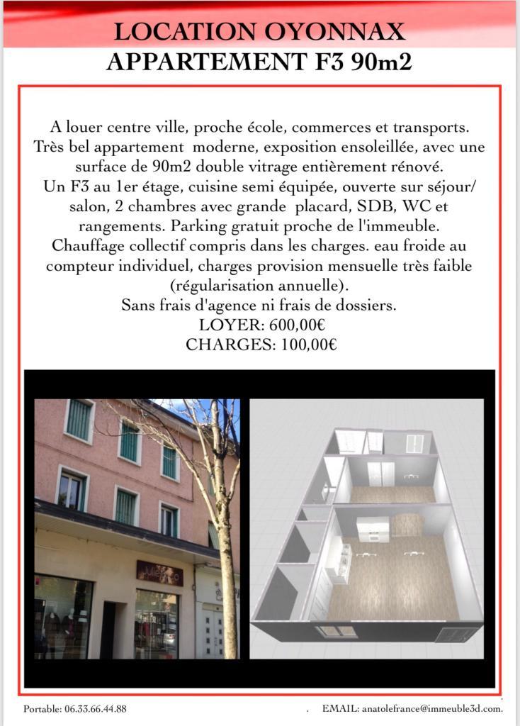 Appartement particulier, appartement, de 90m² à Géovreisset