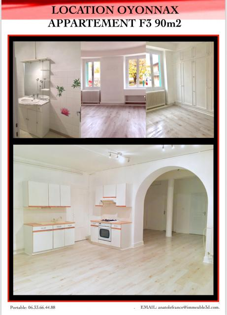 Location appartement T3 Oyonnax - Photo 3