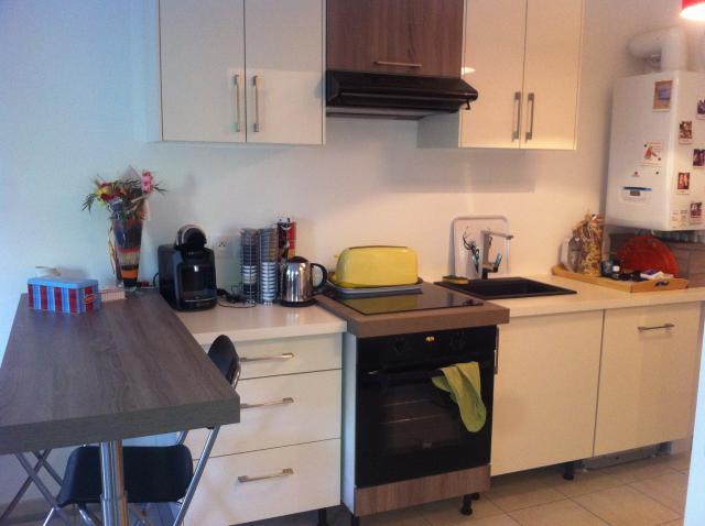 Location d 39 appartement t2 meubl de particulier for Combien coute une cuisine amenagee