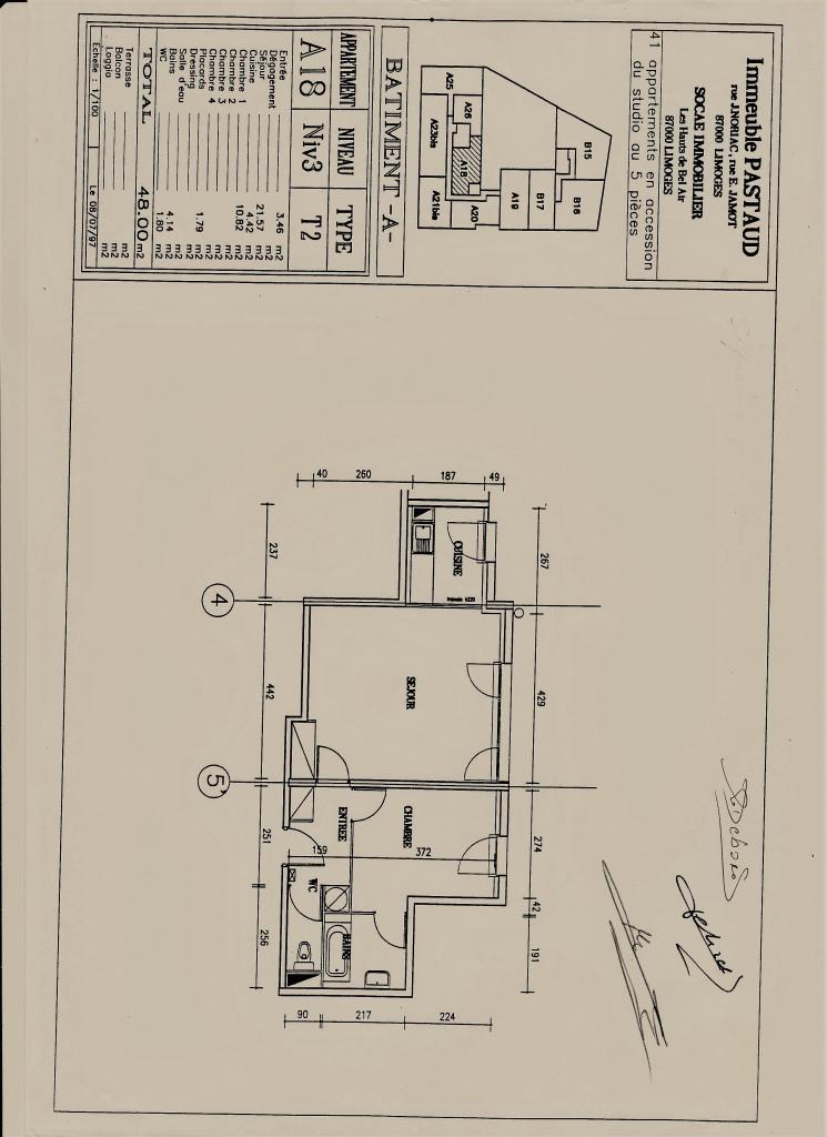 Location d 39 appartement t2 de particulier limoges 500 - Location meuble limoges particulier ...