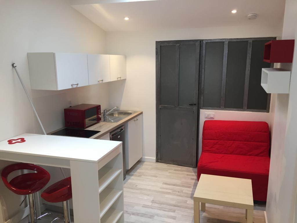 location de studio meubl de particulier particulier lyon 69003 475 18 m. Black Bedroom Furniture Sets. Home Design Ideas
